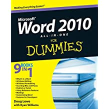 [(Word 2010 All-in-One For Dummies)] [By (author) Doug Lowe ] published on (June, 2010)