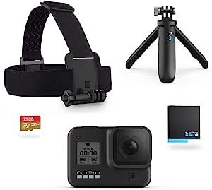Gopro Hero8 Black Bundle Including Shorty Tripod Camera Photo