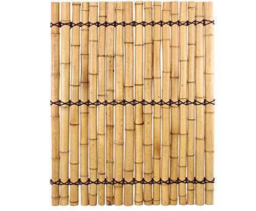 bambus discount com bambus element apas 16 150x120cm gelblich mit verschnurrrung halbe