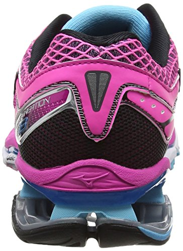Mizuno Damen Wave Creation 18 (W) Laufschuhe Türkis (Electric/black/blue Atoll)
