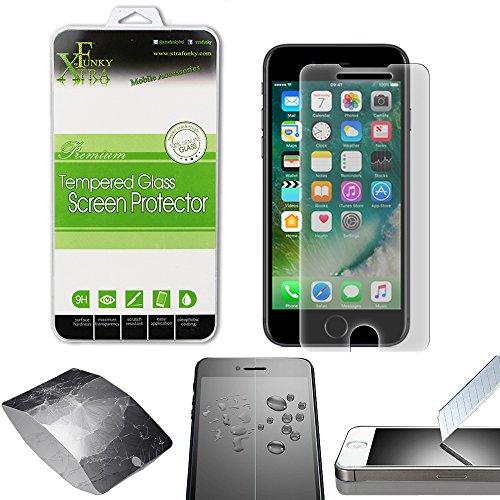 Xtra-Funky Cristal Templado Compatible con iPhone 7 / 7s / 8...
