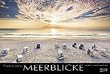 Meerblicke - Nord- und Ostsee 2018: Großer Foto-Wandkalender von der Küste und dem Meer in Deutschland. Edler schwarzer Hintergrund und Foliendeckblatt. PhotoArt Panorama Querformat: 58x39 cm - Korsch Verlag