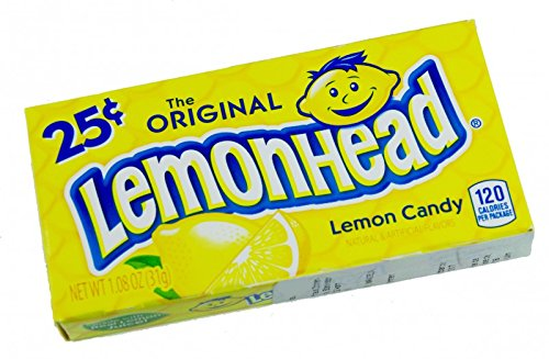 Lemonhead - 26g (Lemonhead Candy)