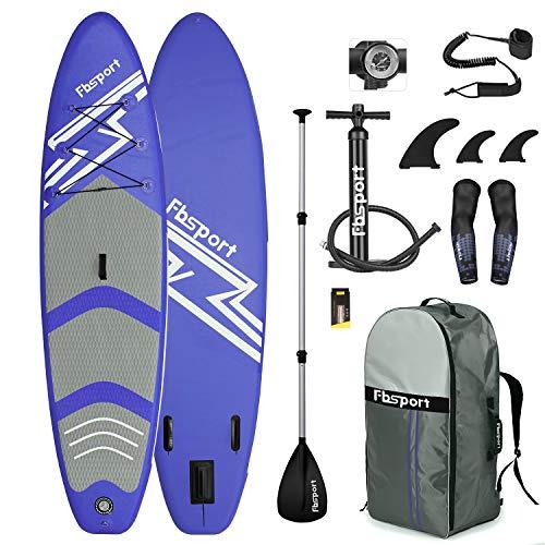 FBSPORT Sup Hinchable, 15cm de Espesor Tabla de Surf Sup Paddleboard, Tabla...