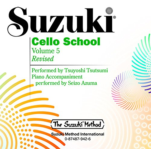 Suzuki Cello School, Volume 5 (Suzuki Method)