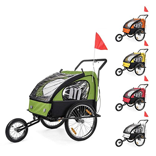SAMAX Children Bike Trailer 2in1...