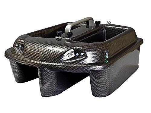 Carp Madness Phantom Futterboot 2,4Ghz Carbon Bait Boat mit TF500 Echolot