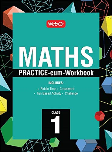 Maths Practice-cum-Workbook Class 1