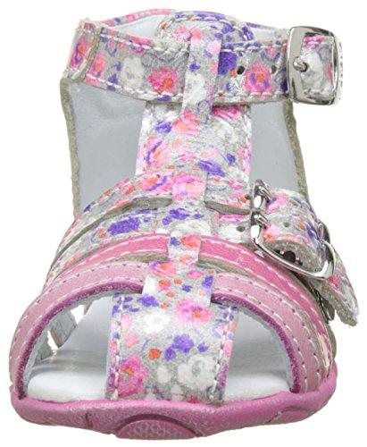 GBB Pax, Sandales Bébé Fille Rose (Vnv Fushia-Imprime Dpf/Zabou)