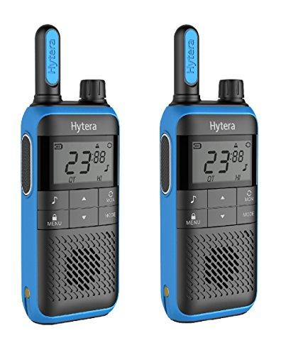 Hytera TF515 PMR446 2-Way Walkie Talkie Radio Twin Pack - Deep Blue