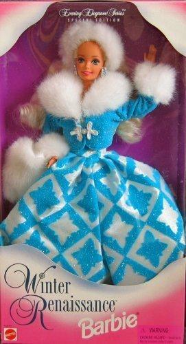 Barbie 1996 - Evening Elegance Series - Special Edition - Winter Renaissance Barbie - Renaissance Serie