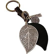 Lumanuby 1x Porte-clés Porte Rétro Pierre Keyring Keychain Boucle à clés  Fantaisie Pendentif chaîne eaf63fb0282