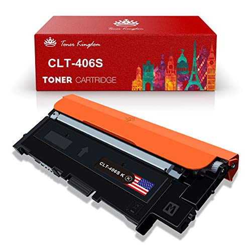 Toner Kingdom 1 Pacchetto Compatible Samsung CLT-406S Cartucce Per toner CLP-360 CLP-360N CLP-365 CLP-365W CLP-365W CLX-3300 CLX-3305 CLX-3305FN CLX-3305FW CLX-3305N CLX-3305W Xpress C460FW C460W