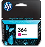 HP 364 Magenta Original Druckerpatrone für HP Deskjet, HP Officejet, HP Photosmart