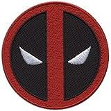 Hook Fastener Deadpool Logo Icon Patch Morale Gear Tactical Patch Parche Bordado Gancho Hecho Por Titan One Europe