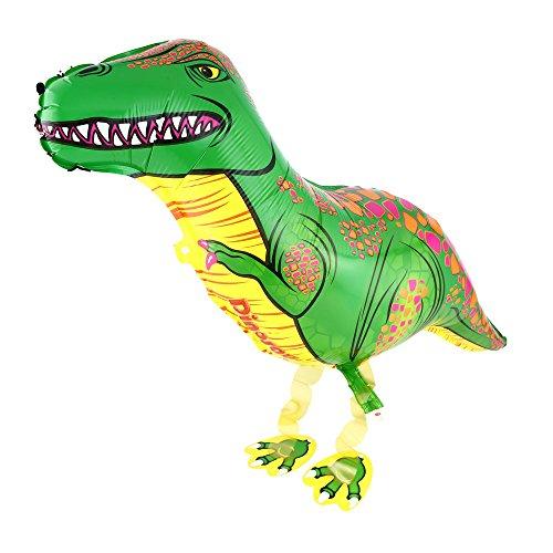 DekoRex Airwalker Walking Pets Globo Partido Niños Accesorios de Fiesta Aquí Dinosaurio