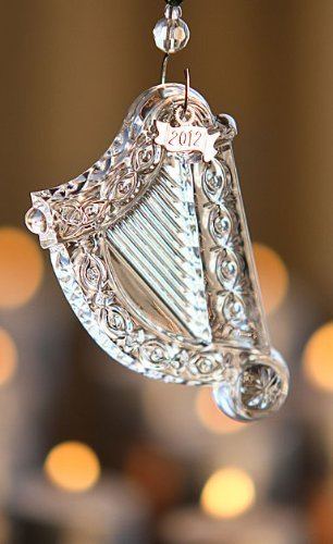 Waterford 2012 Irish Charms Harp Ornament by Waterford Holiday - Charms Irish Harp