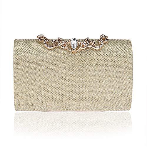 WYPT Neue mode trendy essen abendessen tasche set diamant handtasche gutes kleid tasche abendtasche gold