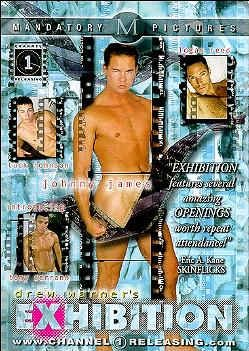 DREW PETER'S EXHIBITION adult gay dvd - Adult Dvd Gay
