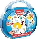 Maped Creativ MY First Kit Pintura de Dedos, Multicolor (907004)