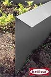 Dominik Blumen und Pflanzen, Komplett-Set Schneckenzaun, 4 Elemente Schneckenblech plus 4 Eckteile