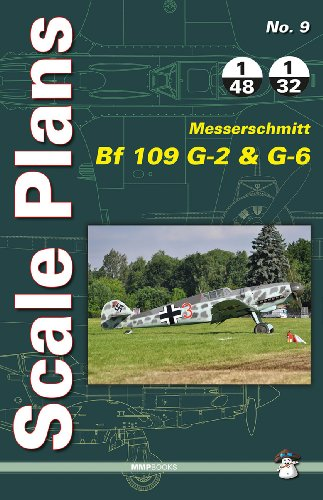Scale Plans Messerschmitt Bf 109 G-2 and G-6 por Dariusz Karnas