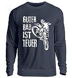 Hochwertiger Unisex Pullover - Motocross T-Shirt Guter Rad Ist Teuer Cross Motorrad Biker Enduro Motocrosser Geschenk