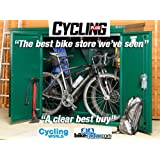 Bike Storage Shed 6 x 3 ft (Includes Assembly) - Secure bicycle storage from Asgard - The 'Addition' Unit