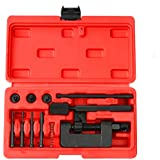 FreeTec–13piezas–Remachadora para cadenas de moto trennwerk juguete y separador de remachadora de herramientas para motor Rueda también Cadenas Cadenas de impuestos