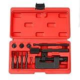 FreeTec 13-tlg Motorradketten Trennwerkzeug Nietwerkzeug Trenn-Niet-Werkzeug für Motorrad Ketten auch Steuerketten