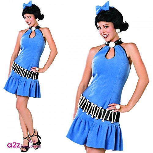Betty Rubble Kostüm für Frauen X-Small (Betty Rubble Kostüme Für Erwachsene)