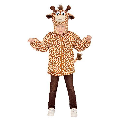 Plüsch Giraffe Kostüm Kinder - Widmann 97487 - Kinderkostüm Giraffe aus