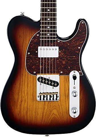 G&L Tribute ASAT Classic Bluesboy 3-Tone Sunburst Guitar Free Gig bag
