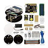 Este Arduino diy es un kit ideal para estudiantes de ciencias eléctricas y de ingeniería para aprender sobre programación. Todo se suministra, placa Arduino Uno R3, procesador HX711 AD, con un peso de unidad y accesorios - Así como una guía de estudi...