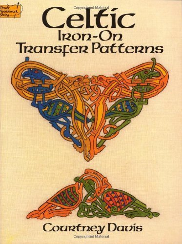 Celtic Iron-on Transfer Patterns (Dover Iron-On Transfer Patterns) by Davis, Courtney (2000) Paperback