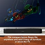 Sonos Beam Compact Smart Soundbar with Amazon Alexa Voice Control in Black