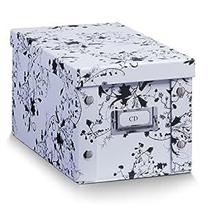 aufbewahrungsbox pappe xs cd box floral 17845 aufbewahrungskiste k che haushalt. Black Bedroom Furniture Sets. Home Design Ideas