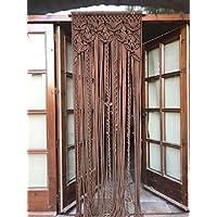 cortina de macrame de trapillo (5)