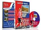 Marches Virtuelles - Sud de la France pour exercices d'intérieur tapis roulant ou vélo d'appartement