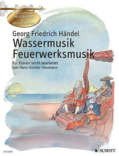 Wassermusik Feuerwerksmusik par George Fride Handel