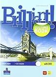 Brilliant! Student's book-Workbook-Culture book. Ediz. leggera. Per la Scuola media. Con CD Audio. Con DVD-ROM. Con espansione online: 1