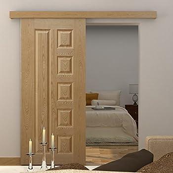 ... hideaway doors; homcom 6 5ft 2000mm modern sliding barn door closet hardware track kit track system unit for ... & Hideaway Doors - Best Image Ficcio.Net