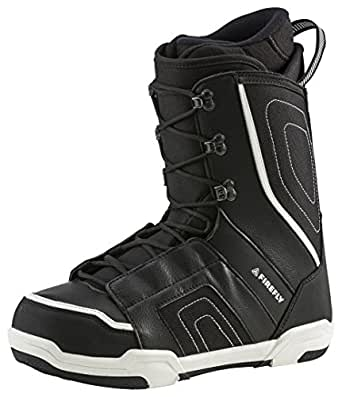 Firefly chaussures de snowboard snowboardschuh gladiator c30 m (noir/blanc) Noir/blanc 27