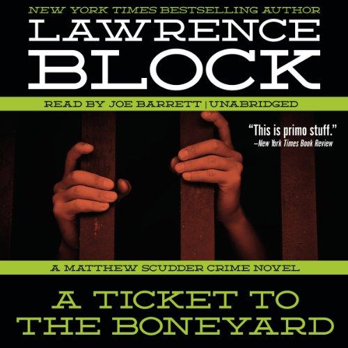 A Ticket to the Boneyard  Audiolibri
