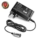 TAIFU 24V Scooter Battery Charger for Schwinn S150 S180 S200 S250 S300 S350 S400 S500 S650 F-18 X-CEL,eZip 4.0 400 500 900,Bladez XTR,Trailz S-500CD,Go-Go Elite Traveller,Mobility Scooter Power Supply