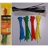 Am-Tech Cable Tie Set (150 Pieces)