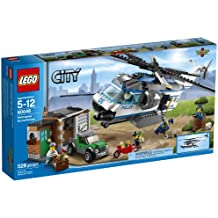 LEGO City Police Helicopter Surveillance Building Set 60046 by LEGO