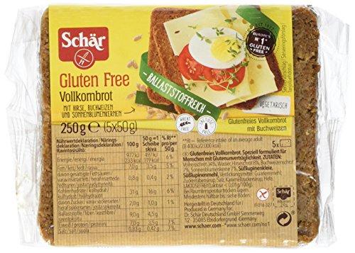 Schär Vollkornbrot glutenfrei 250g, 6er Pack (6x250g)
