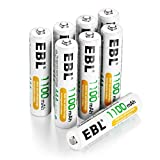 EBL 16 Pack AAA Rechargeable...