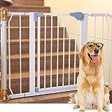 Extra-breite Baby-Tore Für Eingangstüren Treppen-Rosa-Metallhaustier-Tür-Wand-Schutz-Innensichere Tore 72-136cm Weit (größe : 72-84cm)
